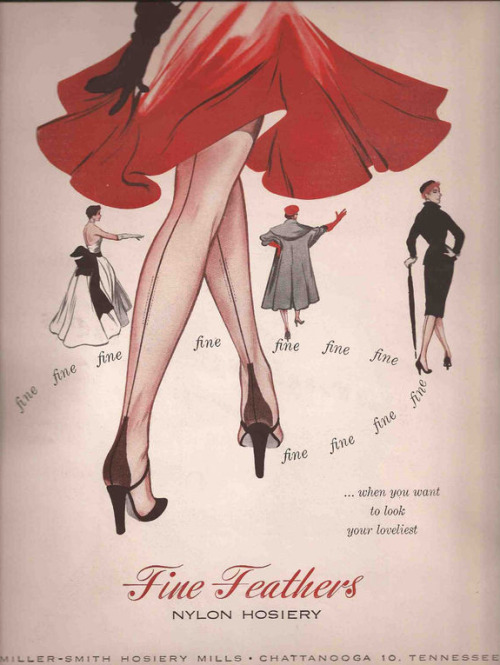 retrogirly:  60s Hosiery Ad