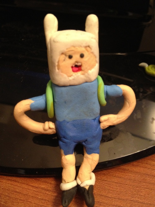 Finally made Ice King, but he looks terrible. I keep trying to figure it out what I did wrong, but yeah. I also decided to make this into a photoset to look at of each individual character I made. I think I'm moving on though from Adventure time, maybe starting some different characters for other stuff. Don't know. Anyone in particular that anyone would like?