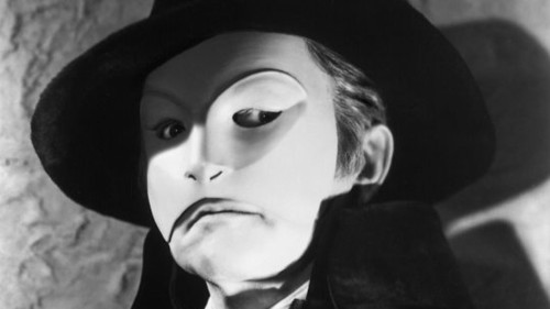 Fact 89: The 1925 film The Phantom of the Opera isn't the only version to be made by Universal Studios. In 1943, another The Phantom of the Opera was produced. According to IMDb, Universal originally planned for this movie to be an Abbott and Costello film. They also planned for Lon Chaney Jr. to play the Phantom like his father once did, but neither of these things happened. Instead, Claude Rains played the Phantom.  Pictured above is Claude Rains at the Phantom.