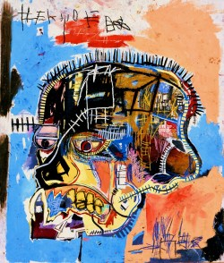mysticbones:  Untitled Skull by Jean-Michel Basquiat