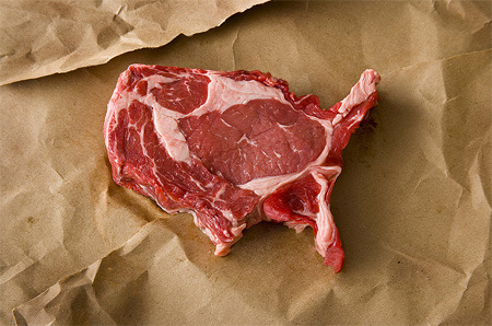 united steaks of america     Gods bless the USA. And Ron Swanson.