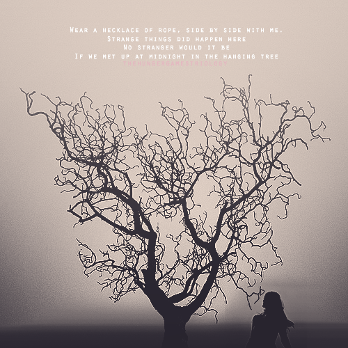The Hanging Tree  This gives me the chills