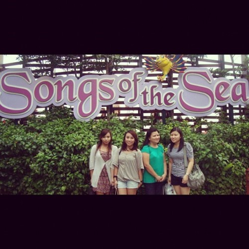 Songs of the Sea  #songsofthesea #sentosa #singapore #travel #family (Taken with instagram)