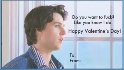 waspberries:  departmentofeagles:  4eva best valentine  oh boy i made this   Best Valentine possibly ever.
