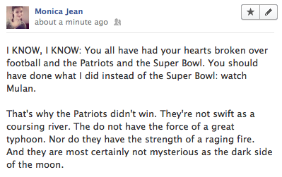 The real reason the Patriots lost the Super Bowl… ***FOOTBALL SPOILERS ON YOUR DASH***