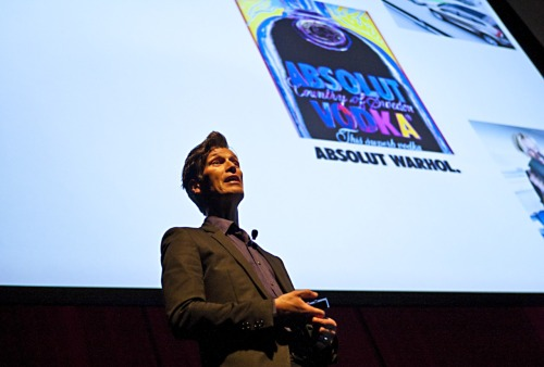 Taking a stroll down Memory Lane, Michael Pearson spoke at agIdeas in 2009, he worked for brands such as Absolut Vodka and Volvo….and another thing, He is a fabulous dresser!