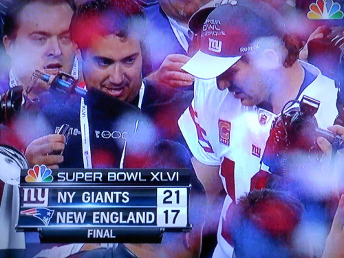 "Why would anyone bet against the Giants anyway? This is not the Knicks. The 2004 Yankees up 3-0. This is not the Rangers. The Islanders. The Jets. It is a bad match-up for New England, though. New York is a ""spoiled"" city. 2008 parade for the Giants. 2009 parade for the Yankees. Tuesday's parade for the Giants. No parade for Iraq veterans, though. If an Iraq veteran was playing on the Giants and won, that would layer the story with some significance for people. Other than that, people are unsympathetic toward the veterans. They are unsympathetic toward the commander-in-chief who deployed them nearly nine years ago. Oh well. The public has a preference for strong men that compete in professional sports, not those killed during an imperialistic war. It is unfortunate for the warriors. Well, it is the shape of things."