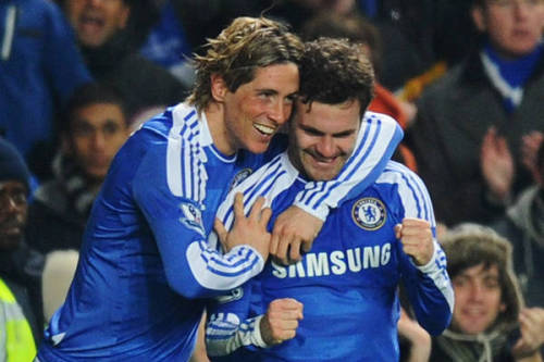 Torres assists Mata's smashing Volley