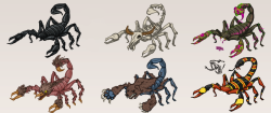 Scorpion Enemies!