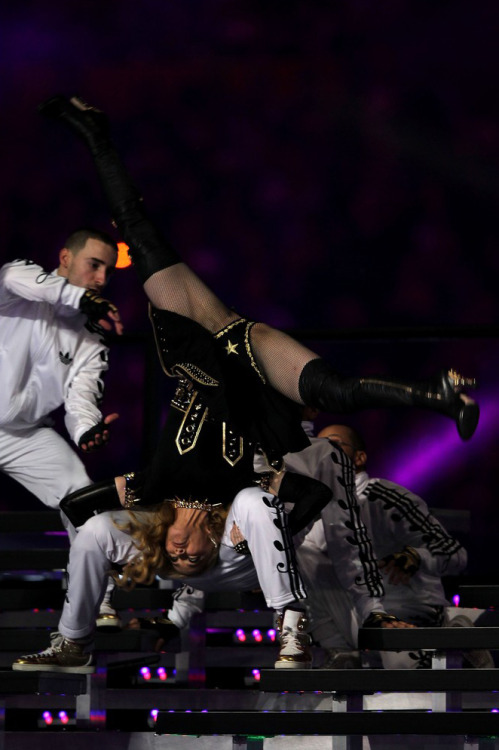 And here was Madonna's crotch from the Super Bowl halftime show Yay. Via