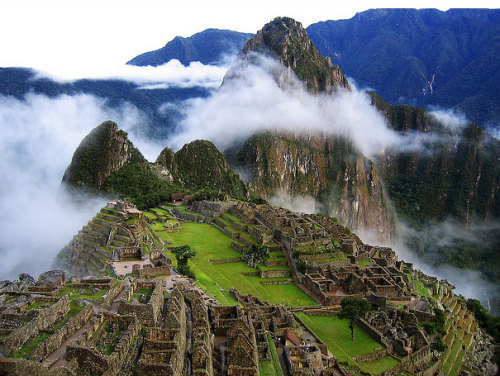 Machu Pichu is on my THINGS TO DO BEFORE I DO list.One day I will get here!!