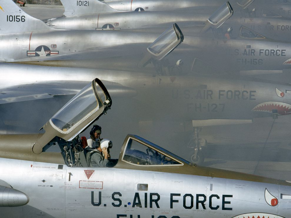 F-105 Fighters, HawaiiPhoto: Albert Moldvay