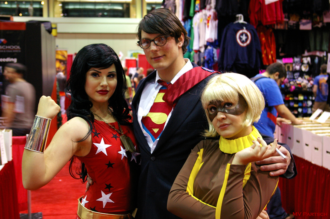 Çôsplây à Tröiş. MegaCon. Orlando. 2011. Hero Initiative Center Pavilion.