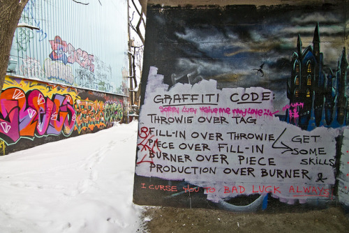 Graffiti Code by Señor Codo on Flickr.Love this to pieces.
