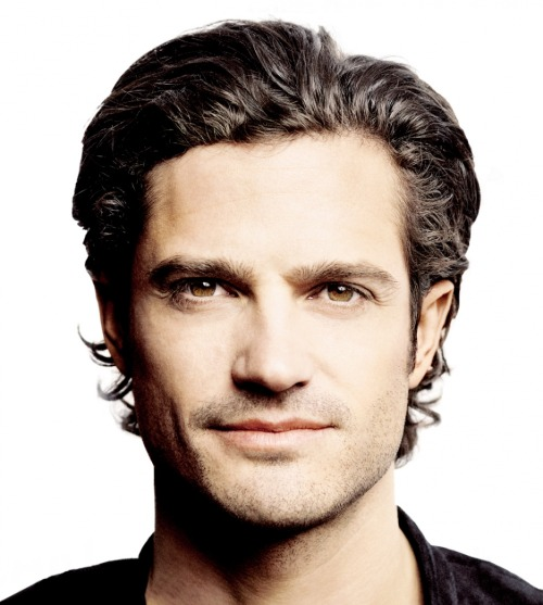 Prince Carl Philip, Duke of Värmland (that's Sweden). This 32-year-old royal highness is also a graphic designer and licensed race car driver. Along with all the charity work and military service, it's amazing that he still finds time to look exactly like Orlando Bloom.