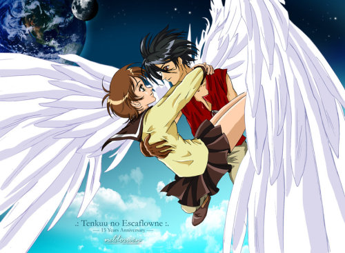Escaflowne - 15 years anniversary by Neldorwen So beautiful *o*
