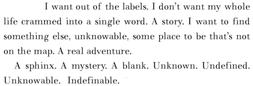 Chuck Palahniuk, Invisible Monsters Submitted by summer-reveries.
