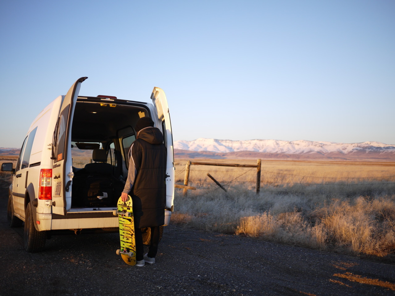 Sunday, February 5 2012 Photographer: Cory Grove Stretch the legs. #vanlife