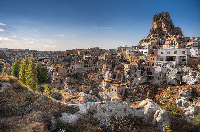 Discovering Ortahisar - (Cappadocia, Turkey) by blame_the_monkey on Flickr.