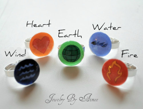 cajunmama:  Captain Planet rings buy it here on Etsy.