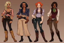 Female Avatar Outfit Designs