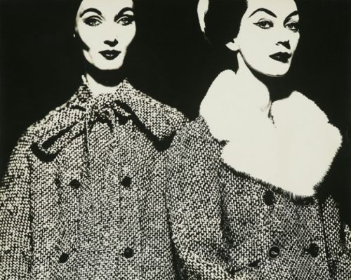 Fashion for Dayton's Oval Room, New York, 1959. Photo by Erwin Blumenfeld.