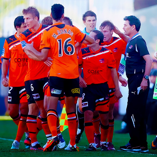 Brisbane Roar vs. Central Coast Mariners (Round 18, Season 7)