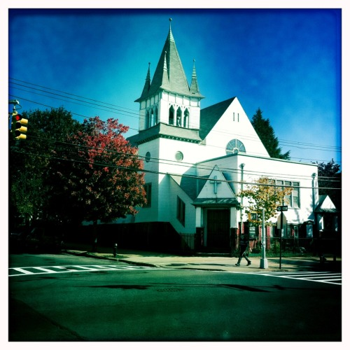 Another church John S Lens, Blanko Film, No Flash, Taken with Hipstamatic
