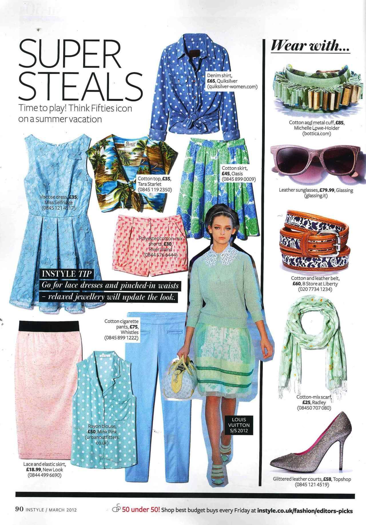 @TaraStarlet featured in InStyle. Click to shop!