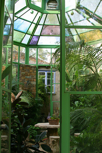hobbit house greenhouse
