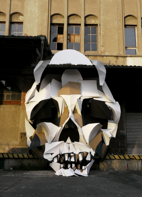 reddheadblog:  Big Skull @ Postbahnhof, Berlin Project, Outsides By Clemens Behr