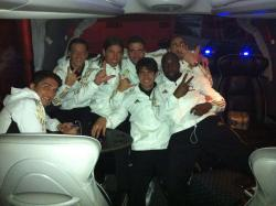 after the win at getafe!