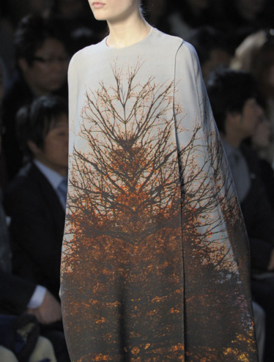 Akris Fall 2011 This, I utterly adore. Its structural detail creates a wholly amazing artistic canvas.