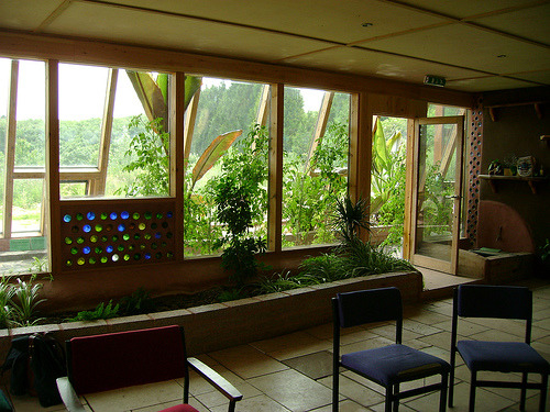 Earthship Interior via treehouseholodeck