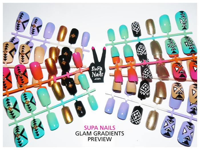 Supa Nails Glam Gradients PreviewIn Shop Soon