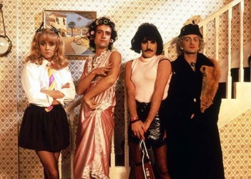 "Queen in ""I Want To Break Free"""