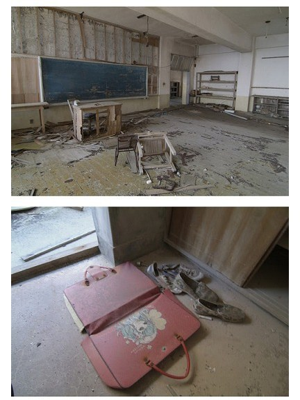 platyputopia:  Remember the photosets about abandoned mental asylums, abandoned theme parks and the ghost city of Prypiat? Today I bring you photos about the abandoned island city of Hashima, Japan.