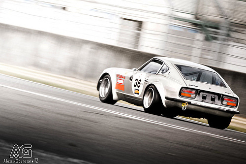 carpr0n:  Old habits die hard Starring: Datsun 240Z (by Alexis Goure)