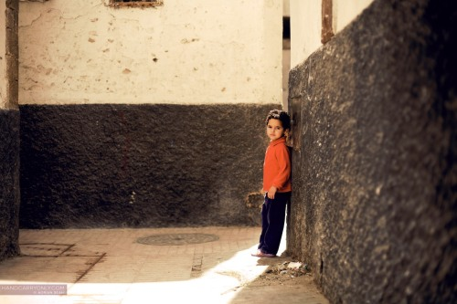 Boy in alley, Marrakech