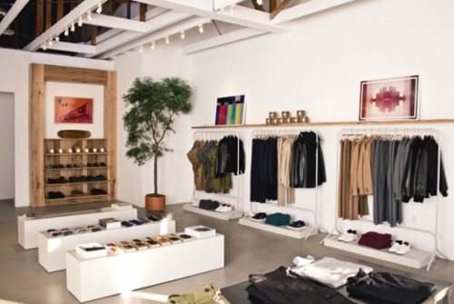 Simple rigour: Unis store in LA