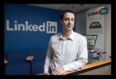 Facebook, LinkedIn like Chicago's ad connections, increase hiring: While Groupon Inc. is bulking up in Silicon Valley, many of the web's highest-flying companies are staffing up here. Photo: Four years ago, Mike Gamson was LinkedIn's sole Chicago-based employee. His office now employs 110 and is growing. Credit: Stephen J. Serio