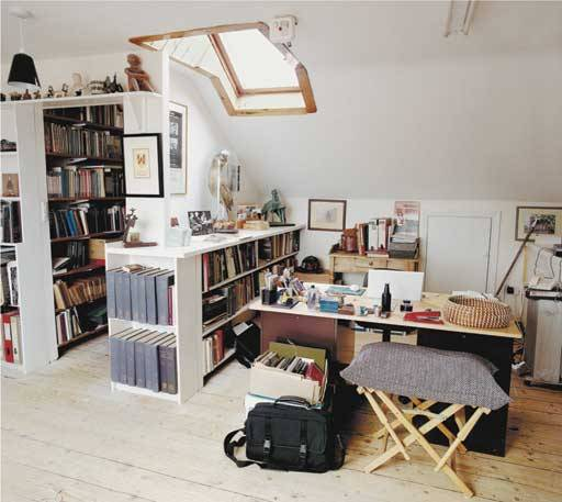 millionsmillions:  poetsorg:  Seamus Heaney's writing room, Dublin.  Much tidier than ours.