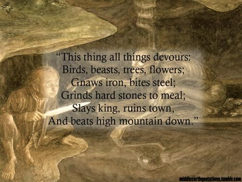 hobbit riddles