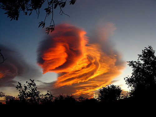 stormy sunset- alien encounter (by Marlis1) Spain