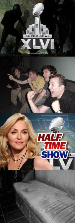 Madonna's Magical Super Bowl Halftime Act   I made the fanbase disappear. I made the fanbase disappear.