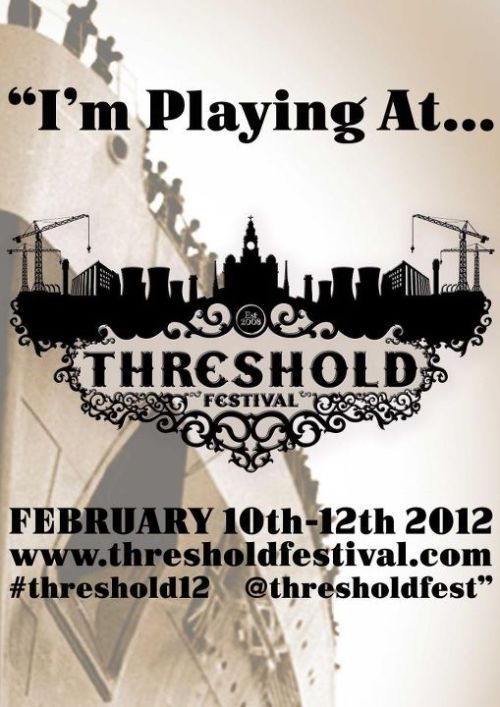 Catch us at Threshold Festival in Liverpool this Sunday (12th Feb) at 7:20pm. We'll be on the Blade Gallery Stage in the Camp & Furnace.Click the photo to go to the event guide! http://www.facebook.com/mitfordrebelhttp://mitfordrebel.get-ctrl.com