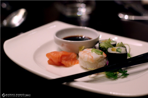 Japanese Food ( Sushi )  _ photo by : Mashail Hamad
