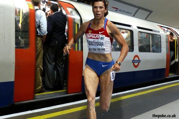 "Olympic 'transport chaos' to be turned into event ""London Underground staff will be issued with specially branded tracksuits, we'll have doctors on call, and spectators will pay between £24 – £1,000 to watch each other try to get to work."" (via The Poke:)"
