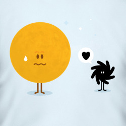 eatsleepdraw:  Black hole love's Sun @madebyelvis