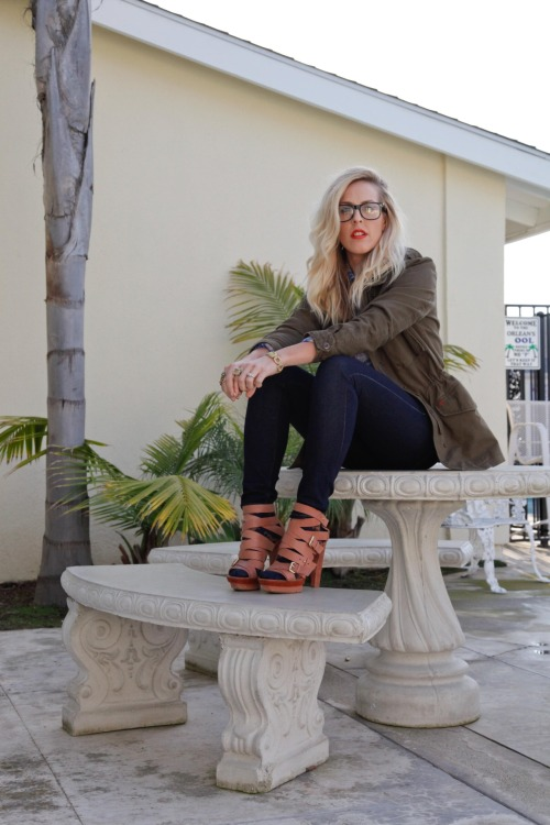 Beth Jones of BJones Style always rocking vintage frames.